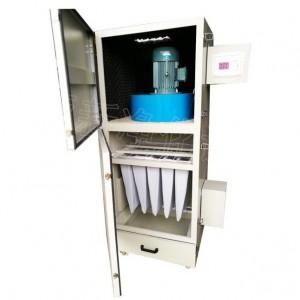 PL袋式除尘机工业除尘吸尘器脉冲小型捕尘器喷塑不锈钢材质